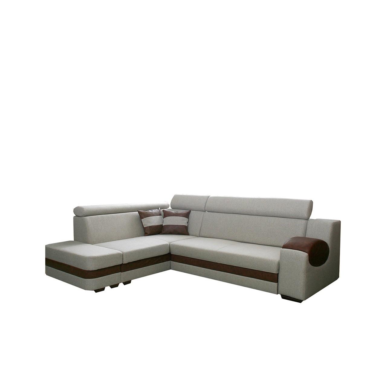 ecksofa amore ii mit schlaffunktion mit bettkasten mirjan24. Black Bedroom Furniture Sets. Home Design Ideas
