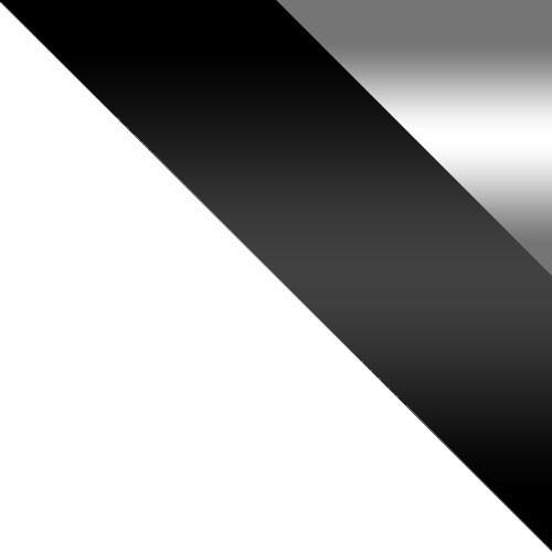weiß / weiß + schwarz Hochglanz + spiegel