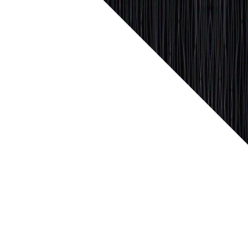 weiß / weiß schwarz + silber Hochglanz