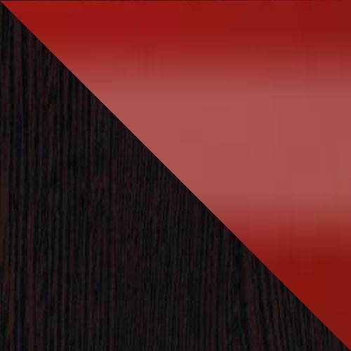 milano / rot Hochglanz