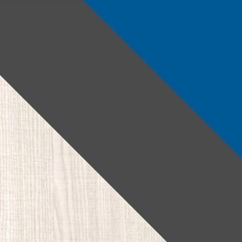 ash /  graphite /  blue