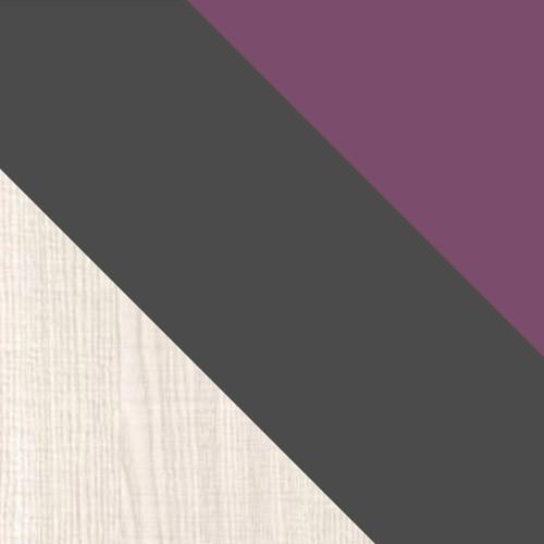ash / graphite / violet