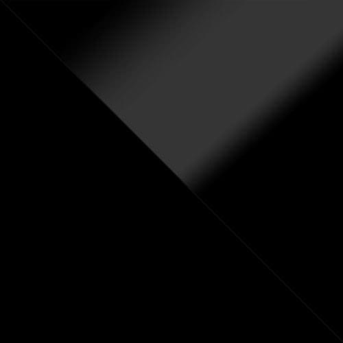 schwarz / schwarz Hochglanz