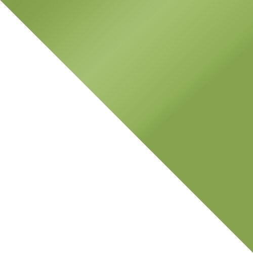 weiß / grün Hochglanz