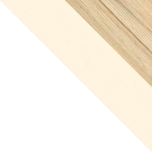 weiß / vanille + cocobolo