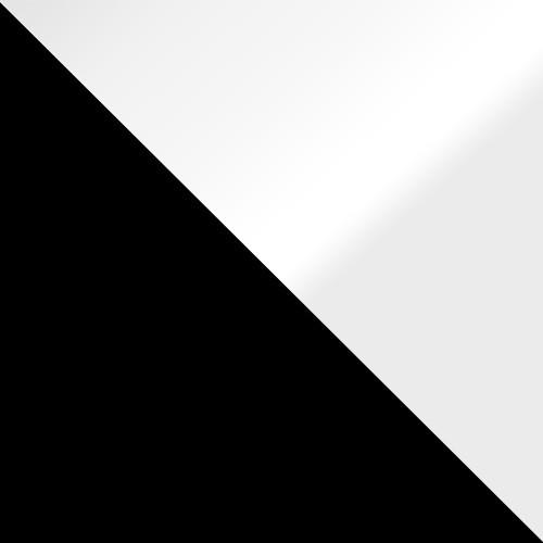 schwarz / weiß Hochglanz