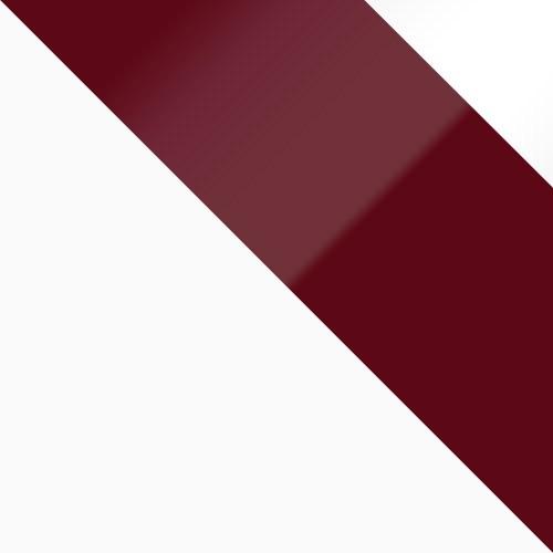 weiß / burgund Hochglanz + weiß Hochglanz