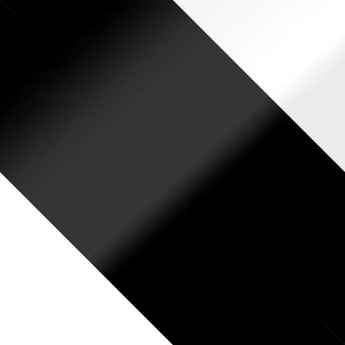 weiß + schwarz Hochglanz / schwarz Hochglanz + weiß Hochglanz