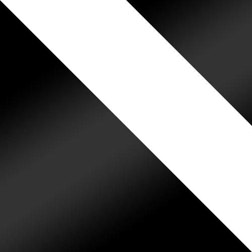 schwarz / weiß + schwarz Lacobel