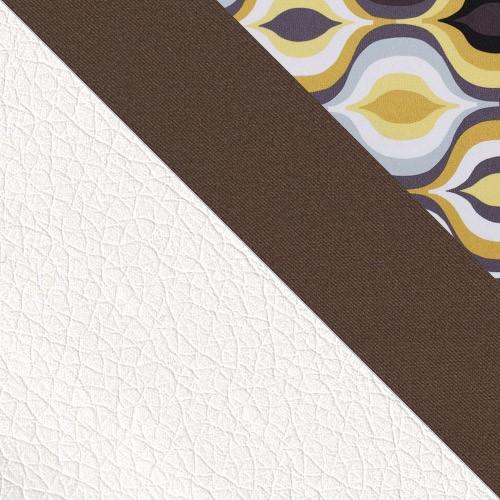 Korpus: kunstleder Soft 017 + Sitfläche: Granada 2732 + Amber 73