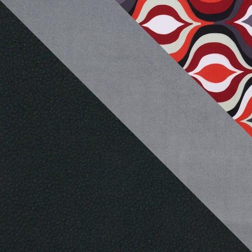 Korpus: kunstleder Soft 011 + Sitfläche: Granada 2725 + Amber 70