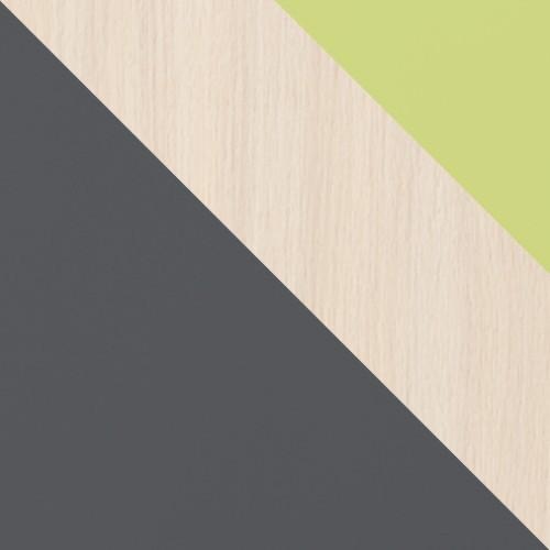 graphit / eiche cremona + grün