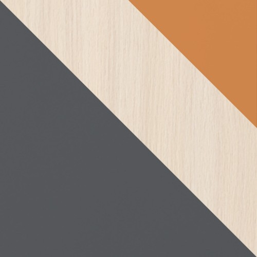 graphit / eiche cremona + orange