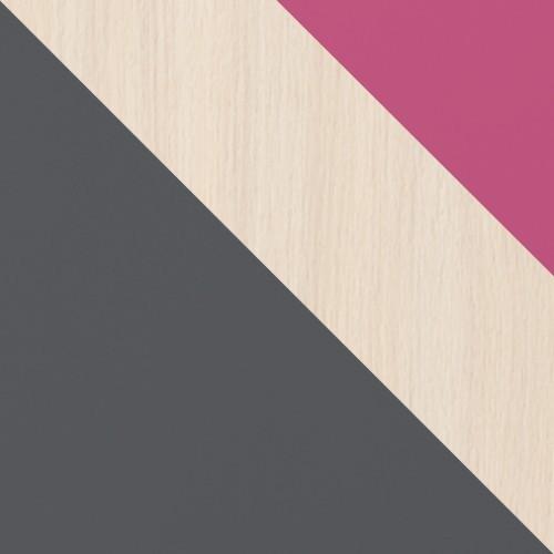 graphit / eiche cremona + rosa