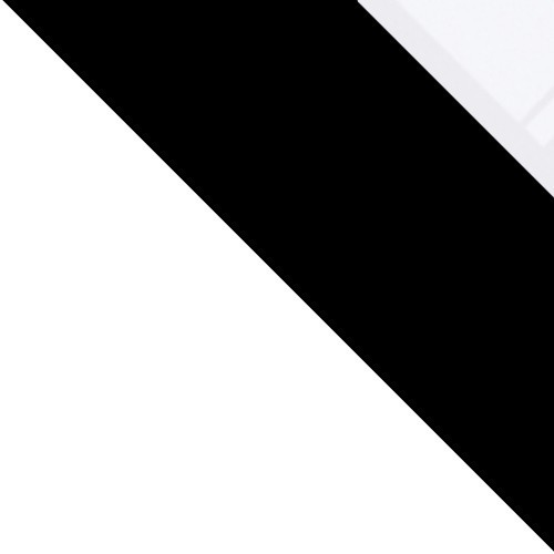 weiß / schwarz + weiß glas