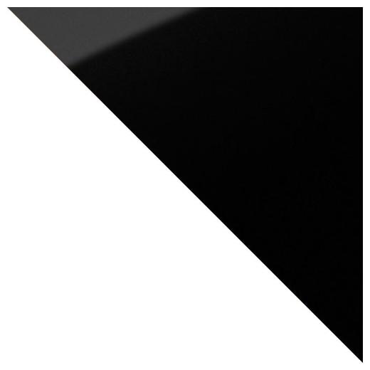 weiß /  schwarz spiegel