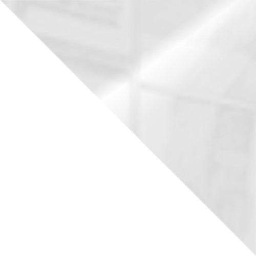 weiß / weiß glas