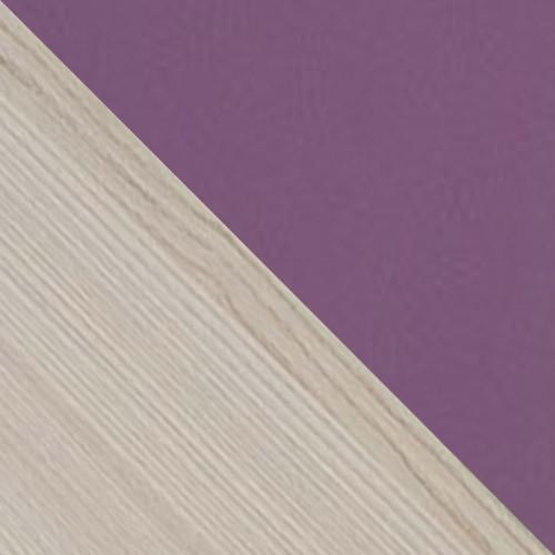 esche / violett