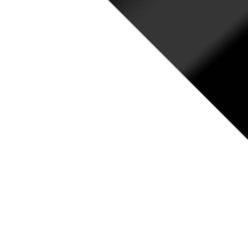 weiß + schwarz lacobel