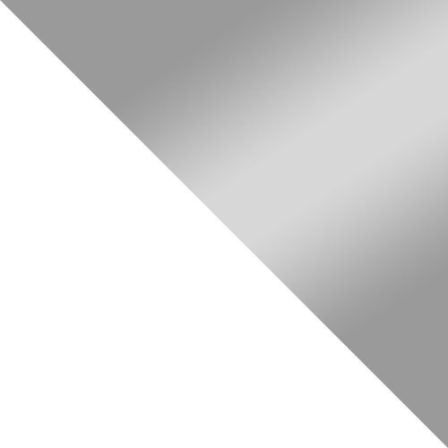 weiß / grau Hochglanz