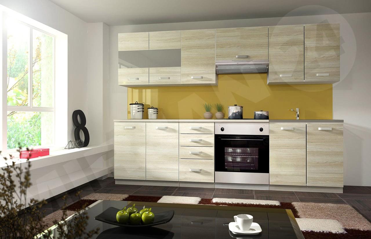 Küchenmöbel Bilder küchenmöbel harvey 260 akazie mirjan24