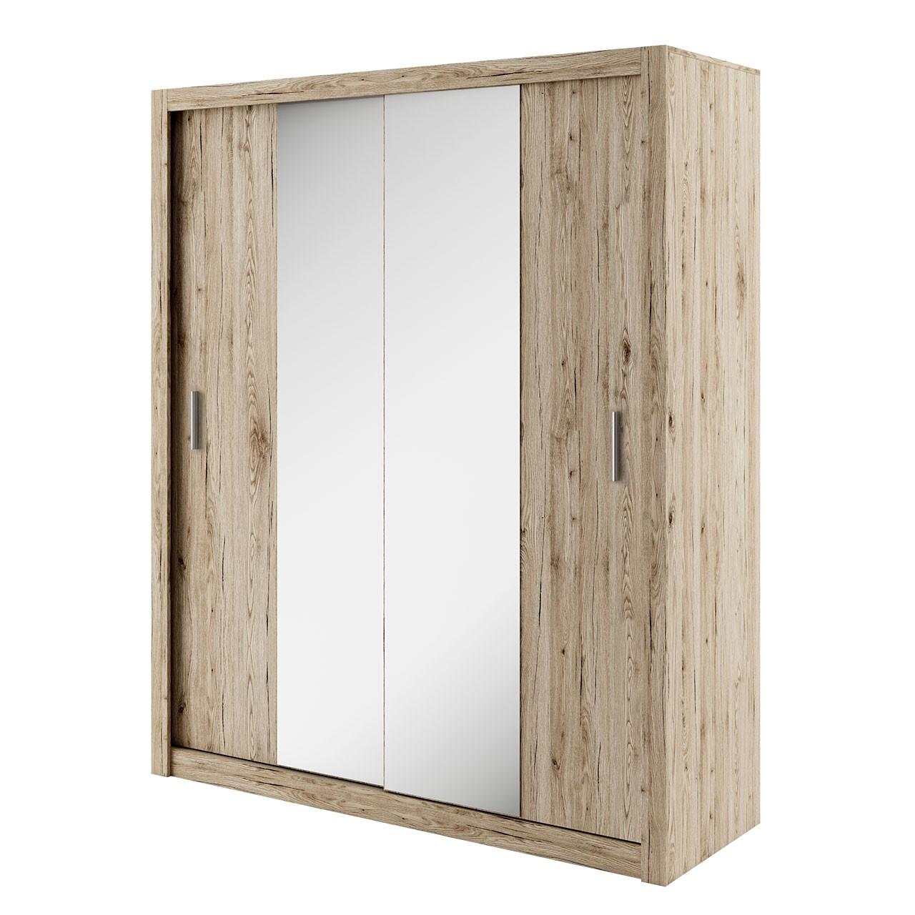 kleiderschrank ikar 180 ik03 mirjan24. Black Bedroom Furniture Sets. Home Design Ideas