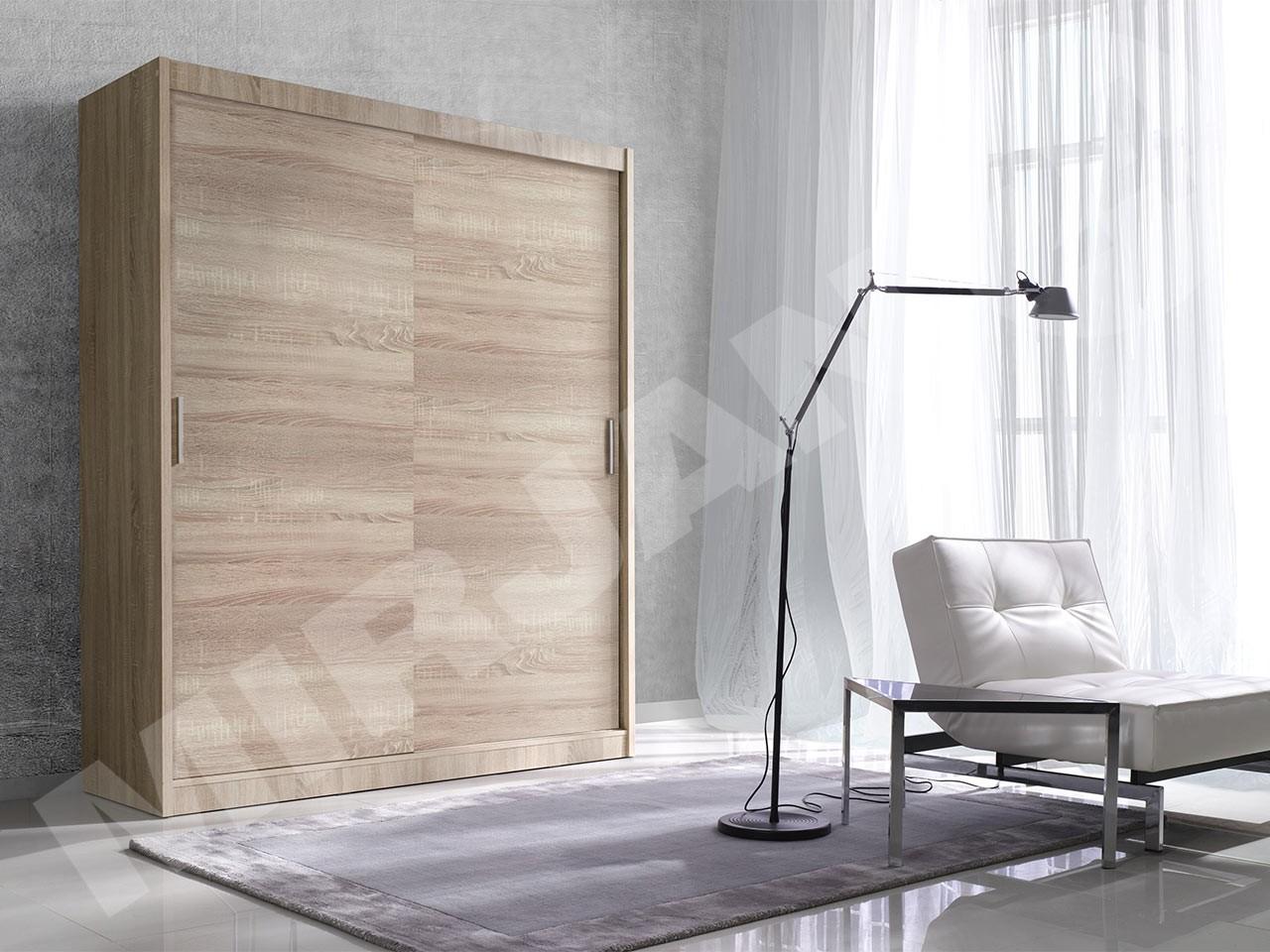 kleiderschrank alfa 150 mirjan24. Black Bedroom Furniture Sets. Home Design Ideas
