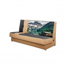 Sofa Drama mit Bettkasten und Schlaffunktion