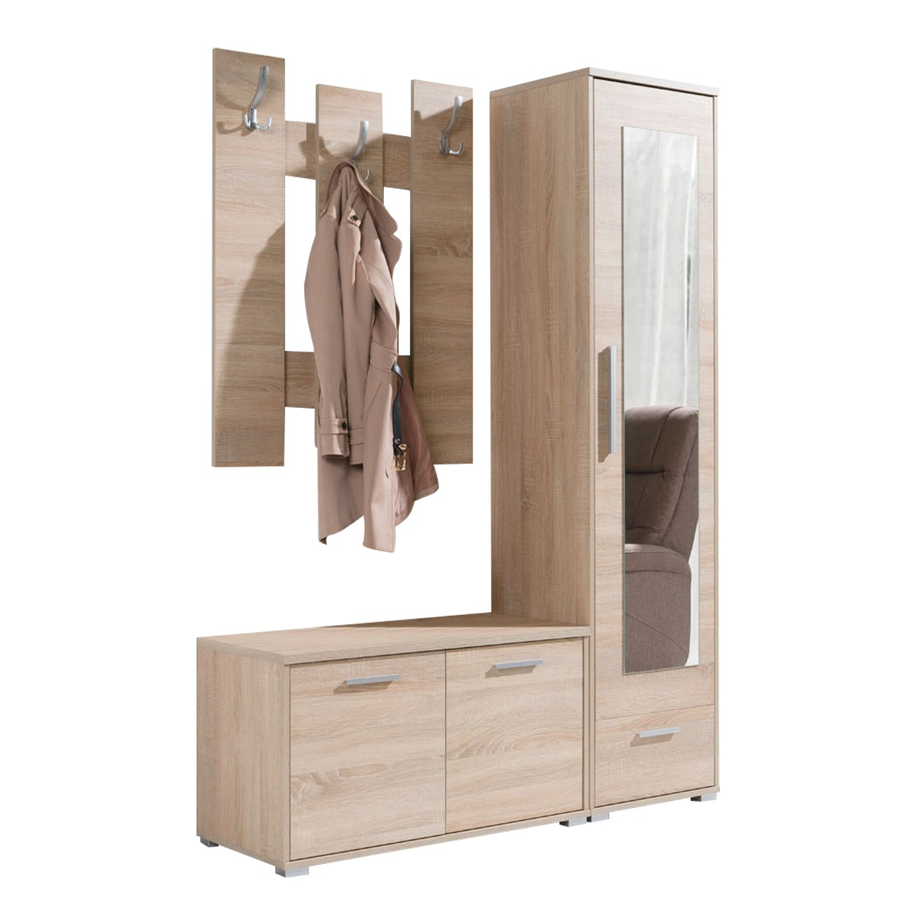 Bezaubernd Garderobe Das Beste Von Garderobe-set Blina; Garderobe-set Blina