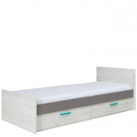 Jugendbett mit Bettschubladen Rester R05