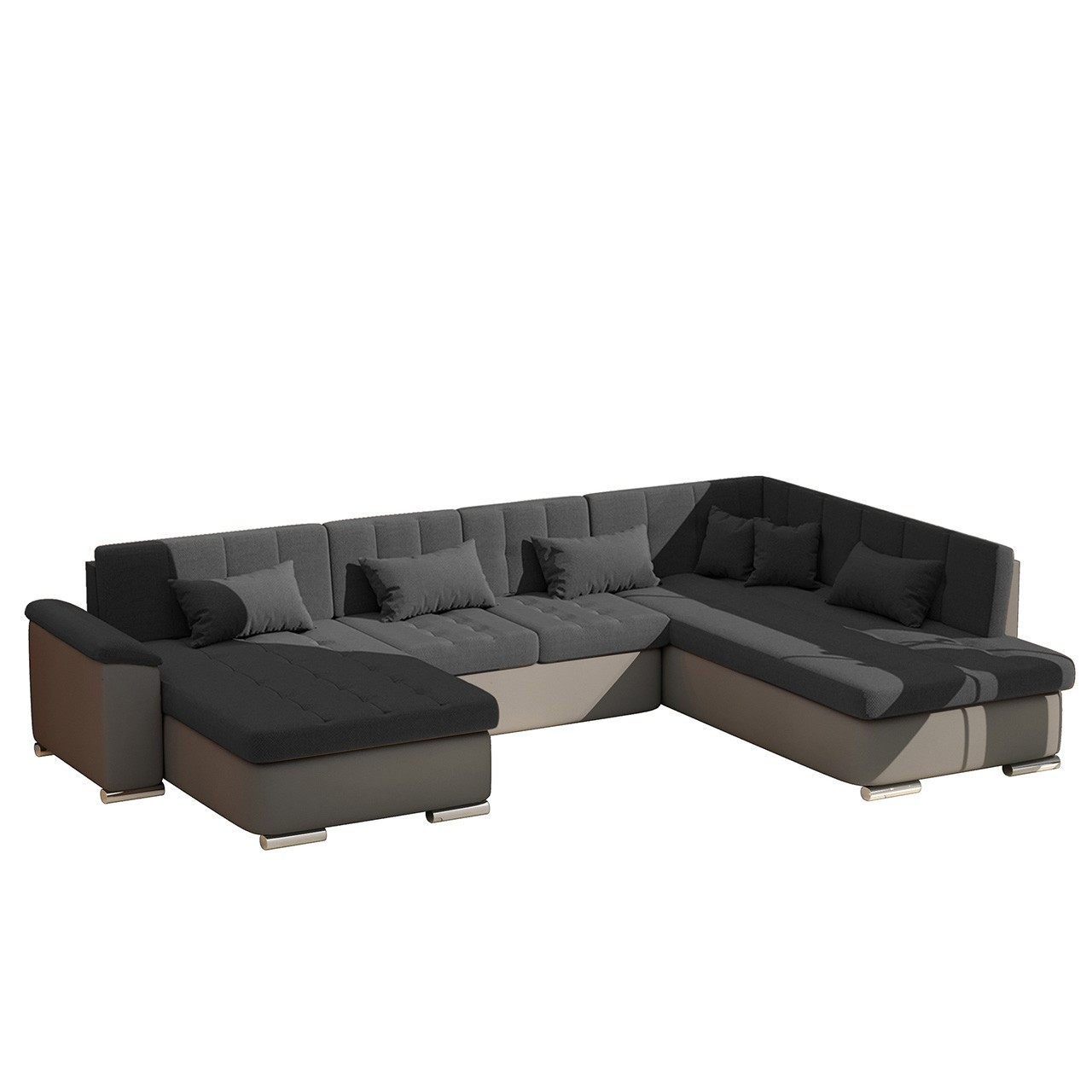 ecksofa u form mit schlaffunktion. Black Bedroom Furniture Sets. Home Design Ideas