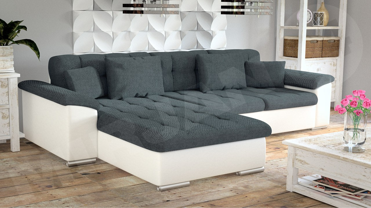 ecksofa mit bettkasten und schlaffunktion couches gt. Black Bedroom Furniture Sets. Home Design Ideas