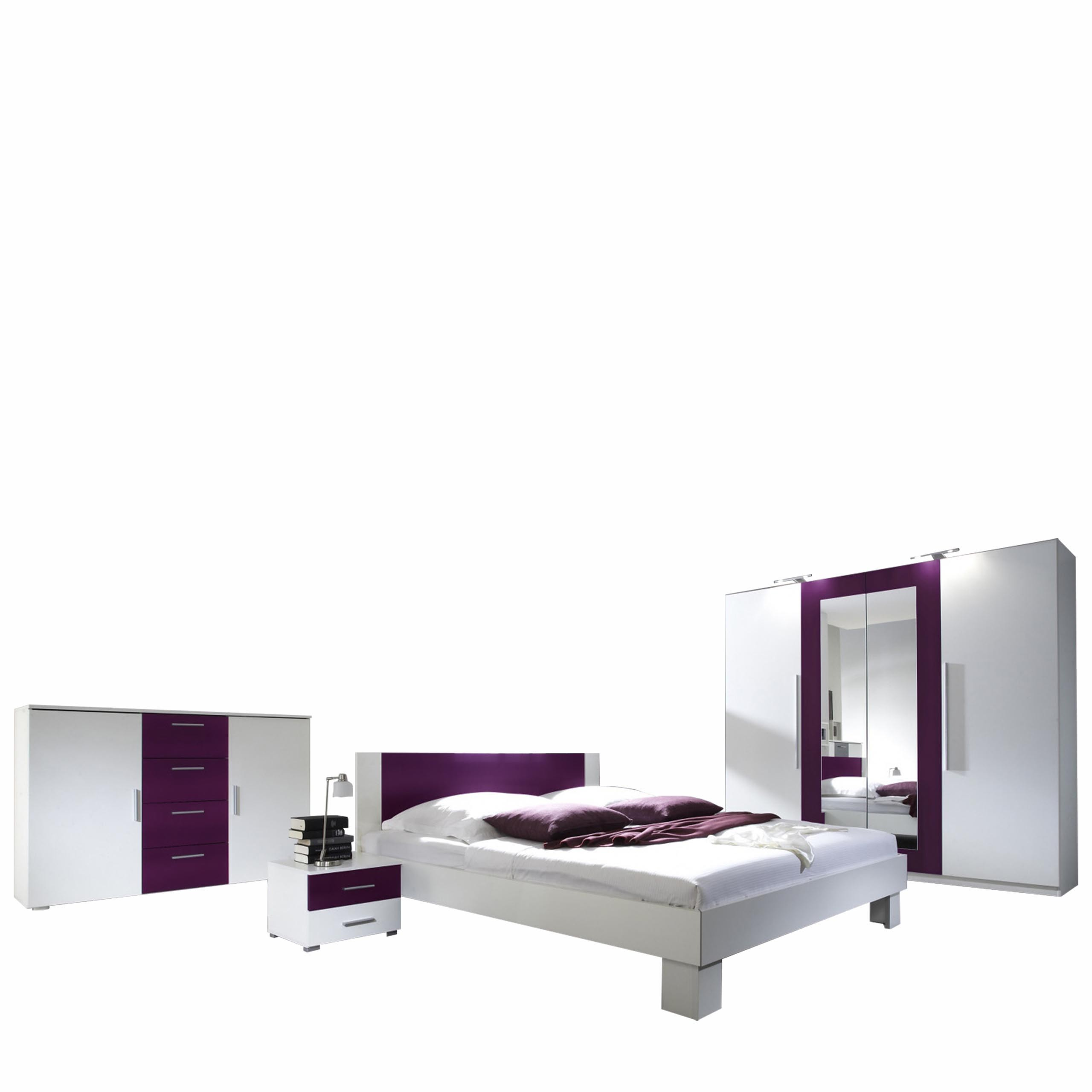 schlafzimmer set vera i mirjan24. Black Bedroom Furniture Sets. Home Design Ideas