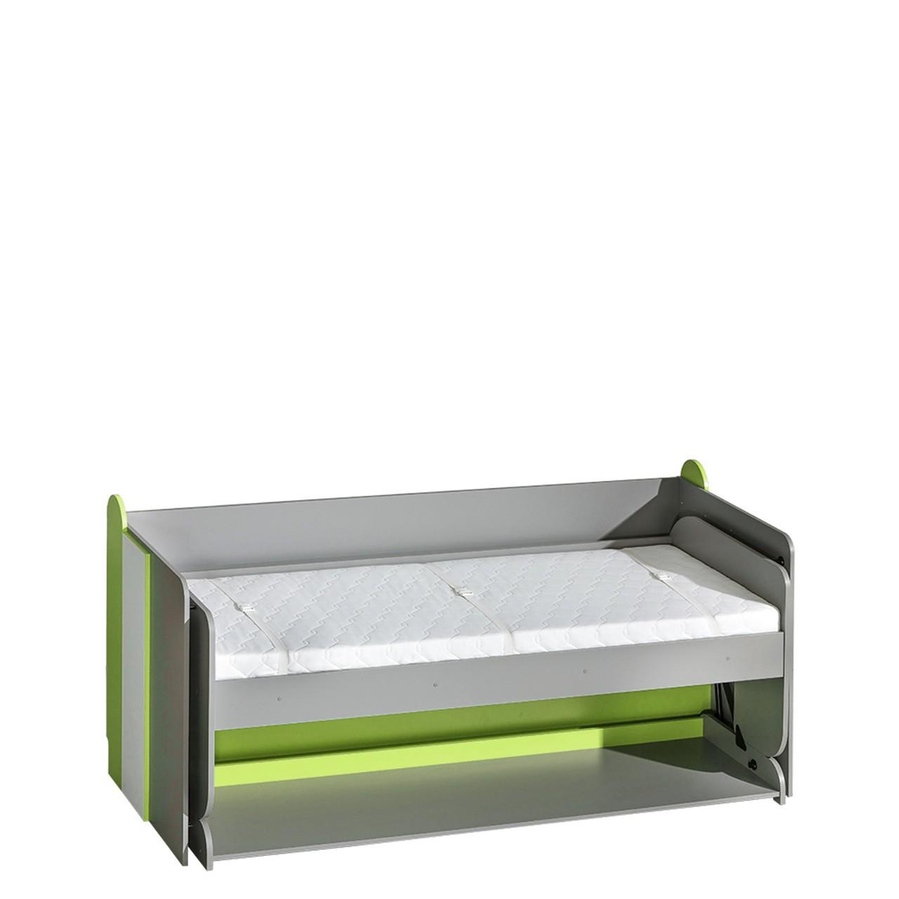 Jugendbett und Schreibtisch Gutro G14 - Mirjan24