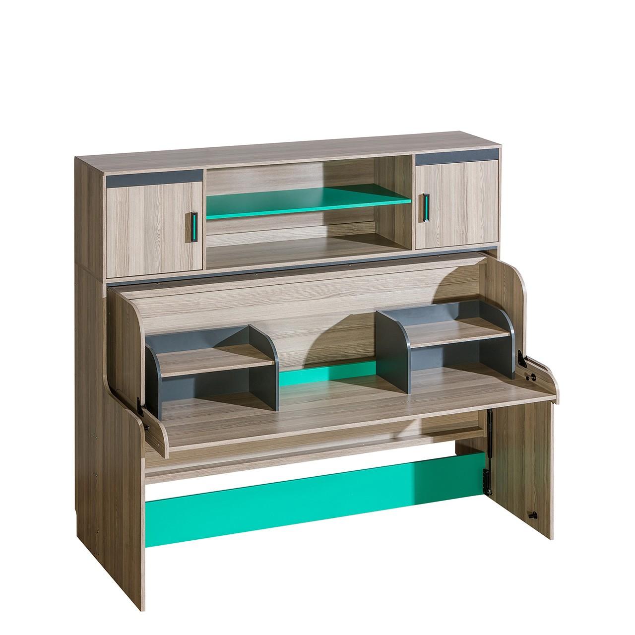 stunning jugendbett mit schreibtisch images. Black Bedroom Furniture Sets. Home Design Ideas