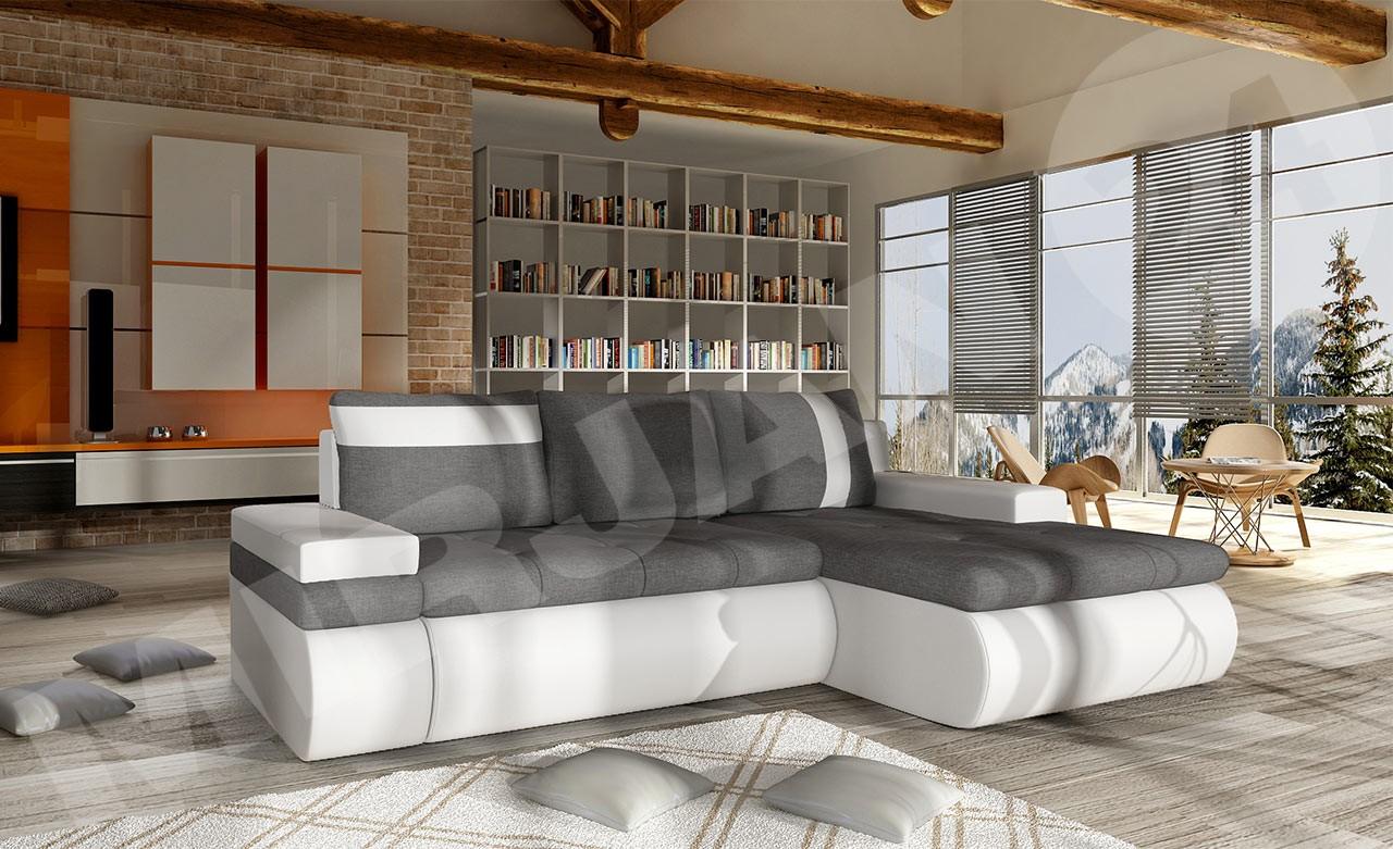 ecksofa sofia mini mit bettfunktion mirjan24. Black Bedroom Furniture Sets. Home Design Ideas