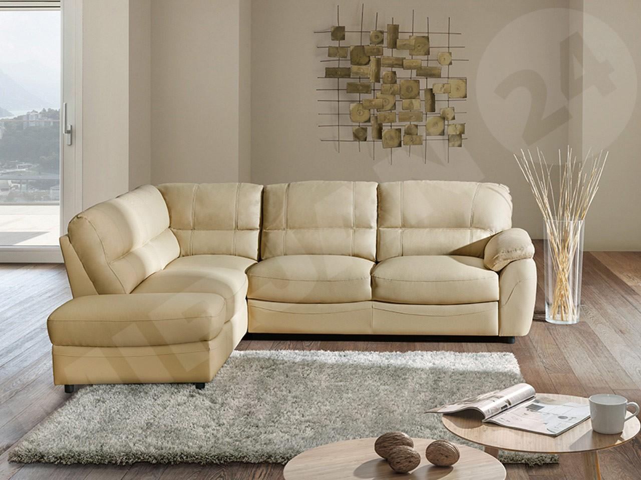 ecksofa drevnik mit schlaffunktion und bettkasten mirjan24. Black Bedroom Furniture Sets. Home Design Ideas