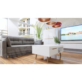 Wohnzimmer-Set Nirus VI + Sofa Antilia