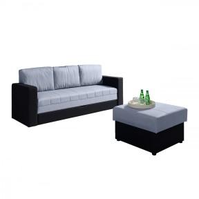 Sofa Bralani mit Polsterhocker