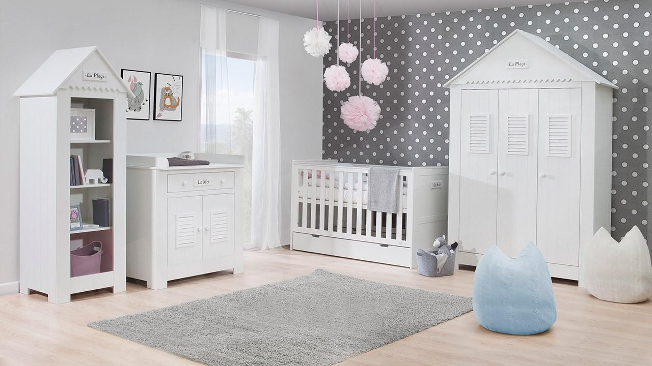 Kinderzimmer-Set Marsylia MDF II - Mirjan24