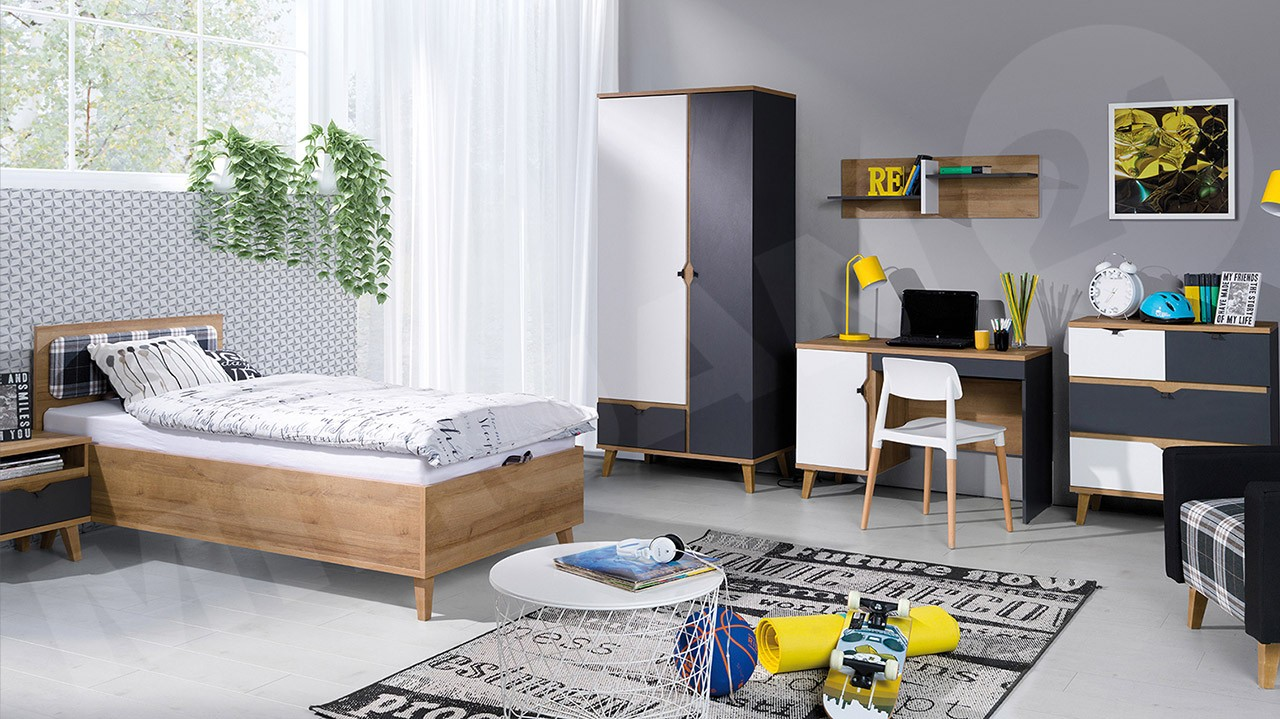 Kinderzimmer-Set Temero III - Mirjan24