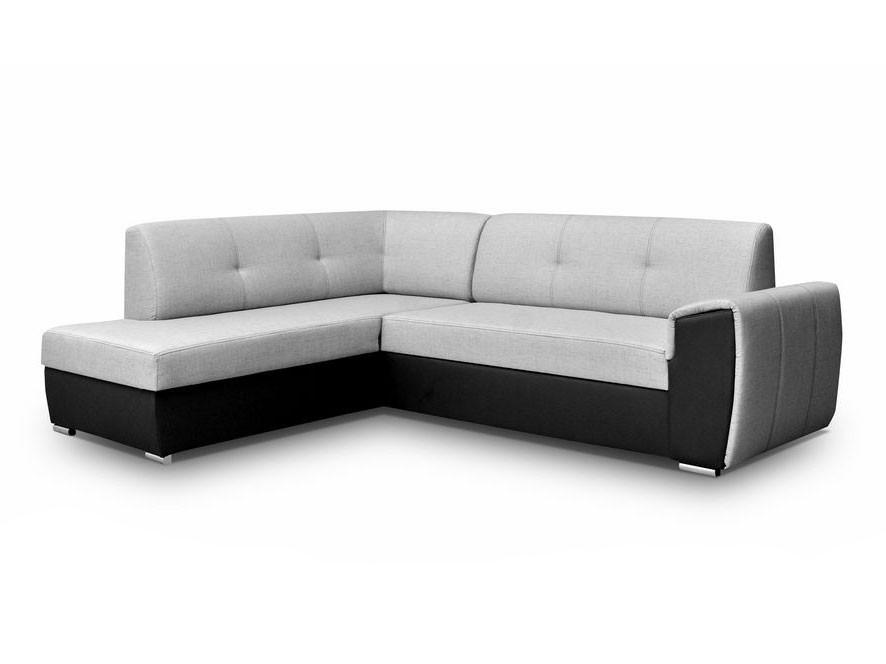 ecksofa taxo ii mit schlaffunktion und bettkasten mirjan24. Black Bedroom Furniture Sets. Home Design Ideas