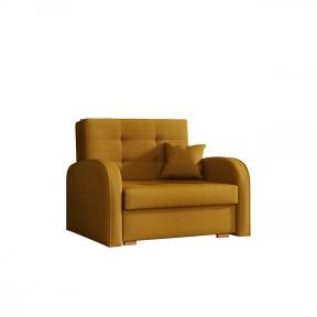 Sofa Clivia Gold I mit Schlaffunktion und Bettkasten
