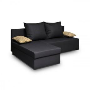 Ecksofa Elmo mit zwei Bettkästen und Schlaffunktion