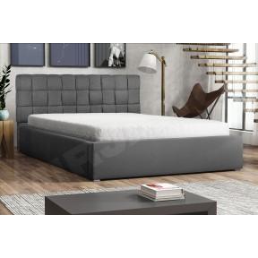 Polsterbett Kinec mit Bettkasten und Lattenrost