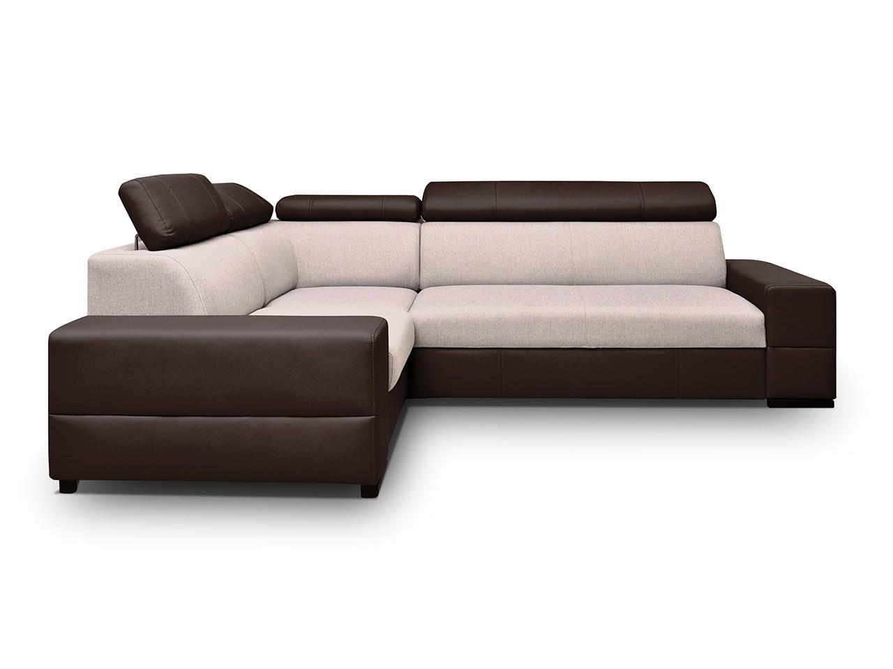 ecksofa boliwia mit schlaffunktion und bettkasten mirjan24. Black Bedroom Furniture Sets. Home Design Ideas