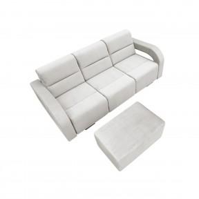 Sofa Allise mit Polsterhocker
