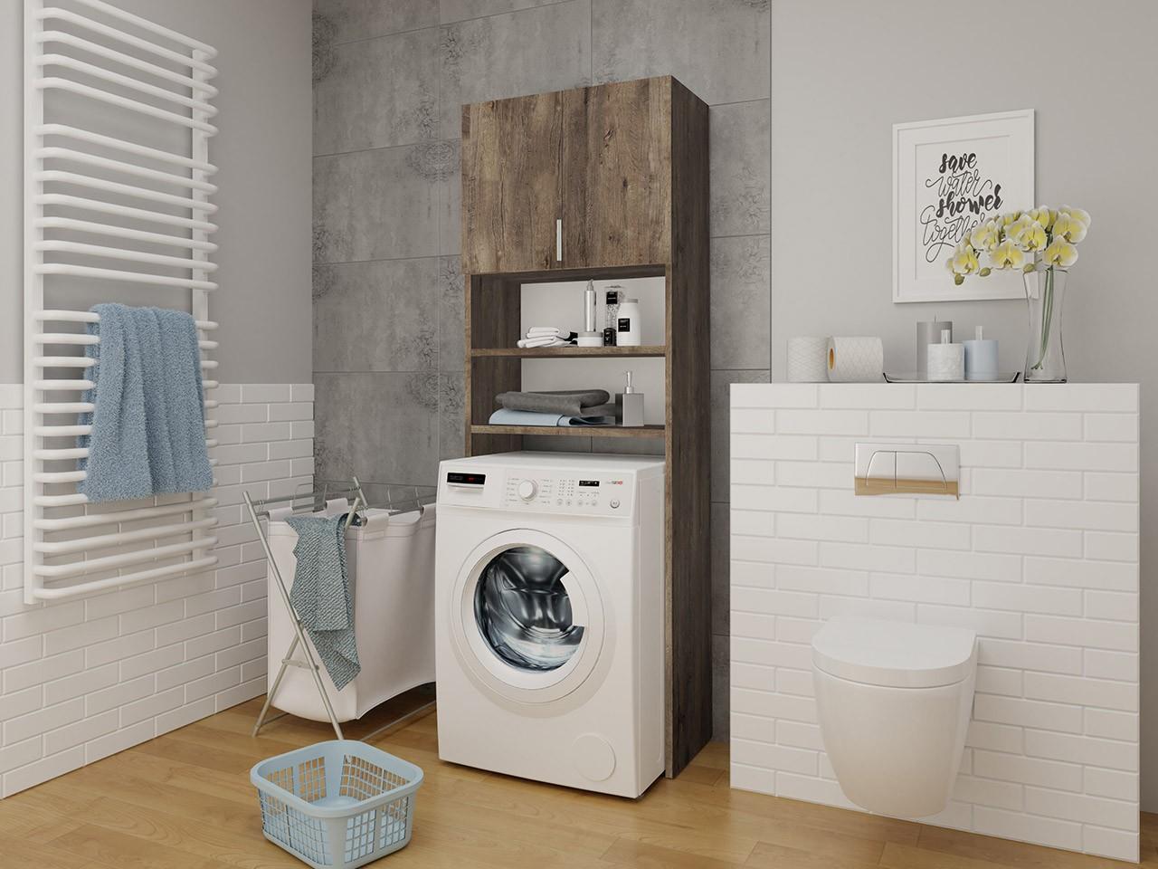 Badezimmerschrank für die Waschmaschine Bonito