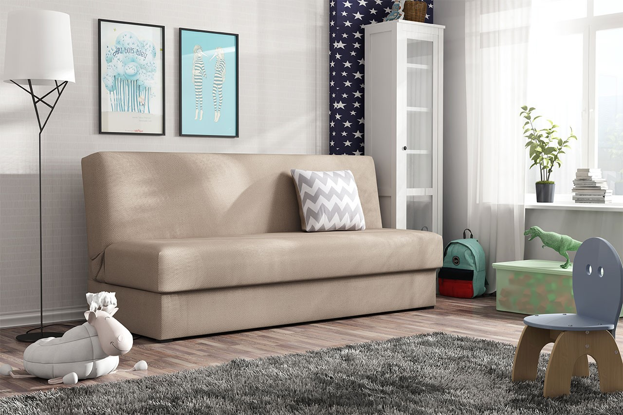 sofa ted mini mit schlaffunktion und bettkasten mirjan24
