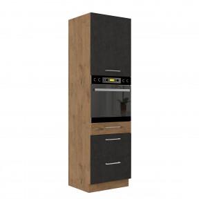 Hoher Schrank Woodline 60 DPS-210 3S 1F